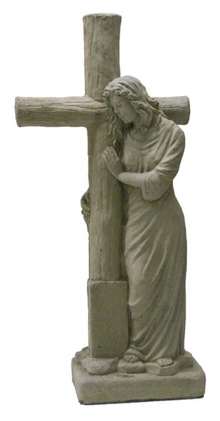 Comforting Log Cross