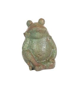 Happy Sitting Frog