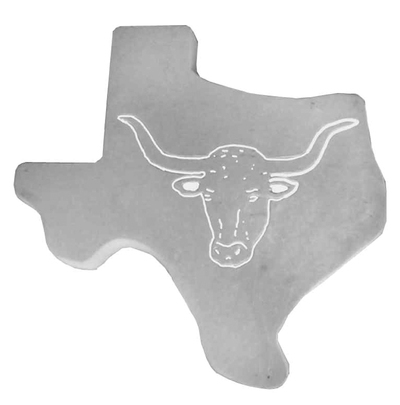 Texas Longhorn Stepping Stone