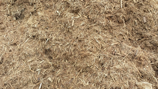 Premium single ground bark mulch
