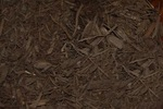Extra Dark Chocolate Dyed Mulch