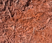Brick Red Dyed Mulch
